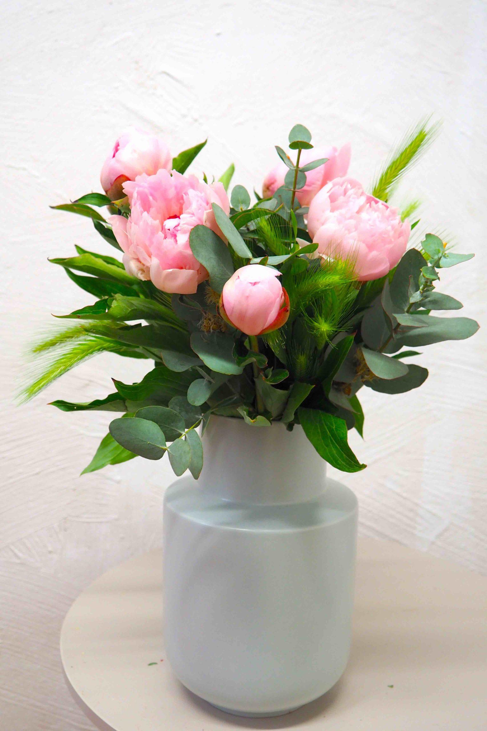 Livraison à domicile Fleurs Toulouse Pivoines