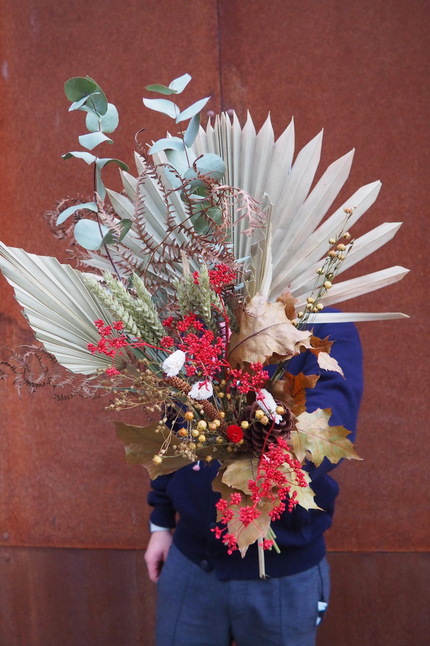 Acheter un bouquet de fleurs séchées